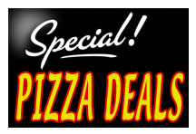 top this pizza specials